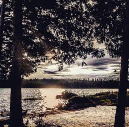 Petit Lac des Jardins, Quebec Canada