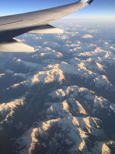 Flying Over The Rockies (Canada)