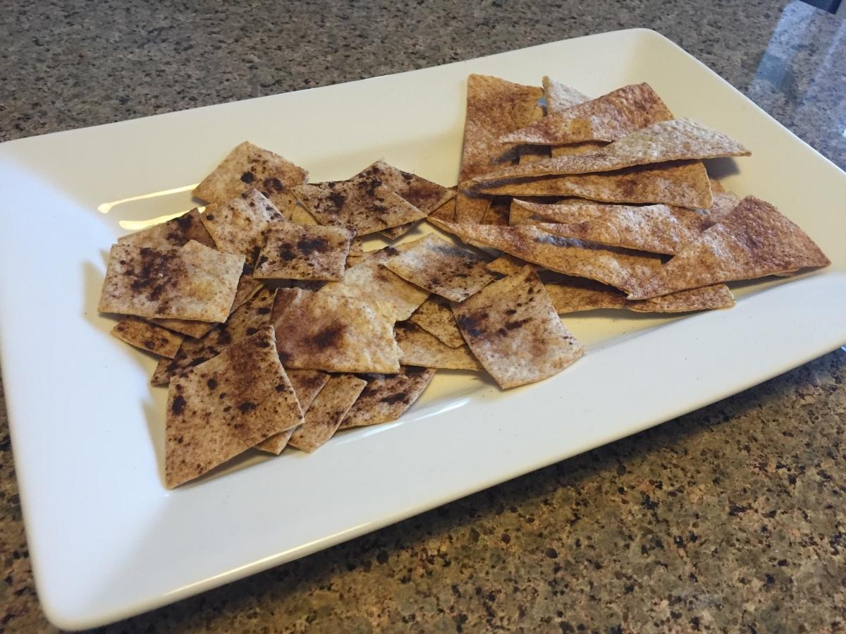 Recipe: Healthy Cinnamon TortillaChips