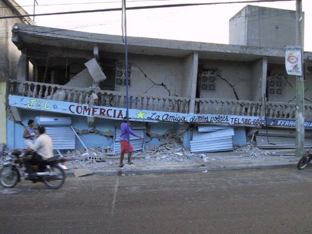 I Was In An Earthquake: Dominican Republic 2003